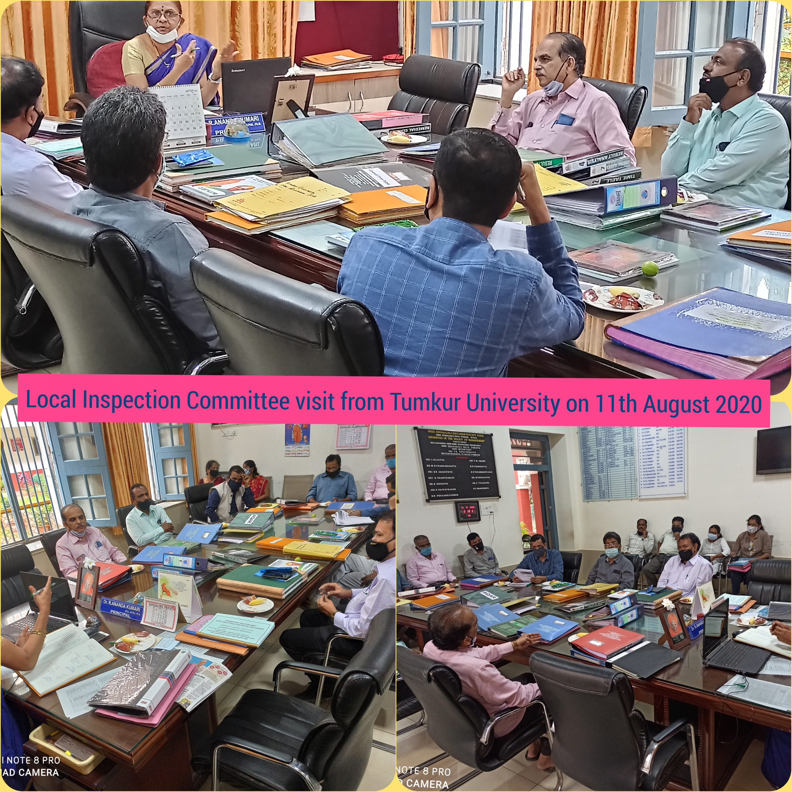 Local Inspection Committee Visit on 11th Aug 2020