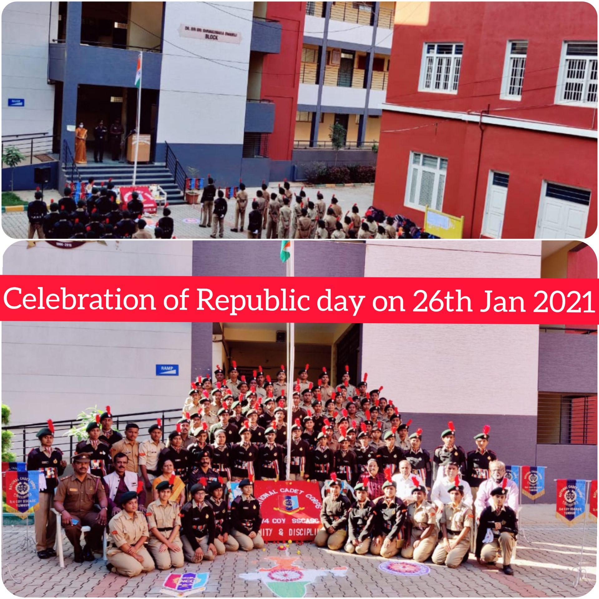 Republic Day Celebration on 26th Jan 2021
