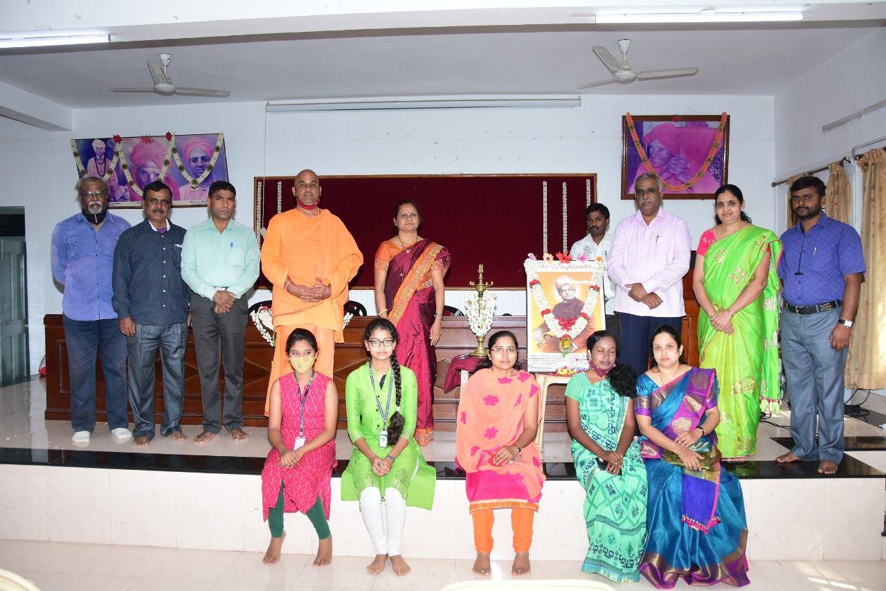 Celebrations of Swami Vivekananda Jayanthi on 19th Jan 2021